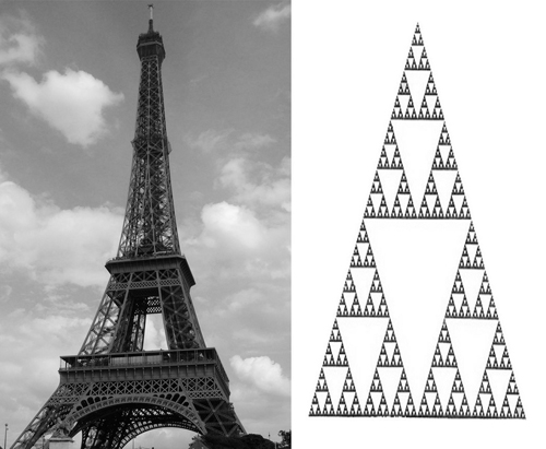 fractals in the design of the Eiffel Tower
