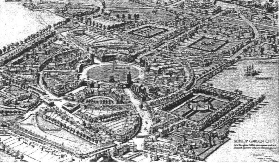 Garden City by Ebenezer Howard