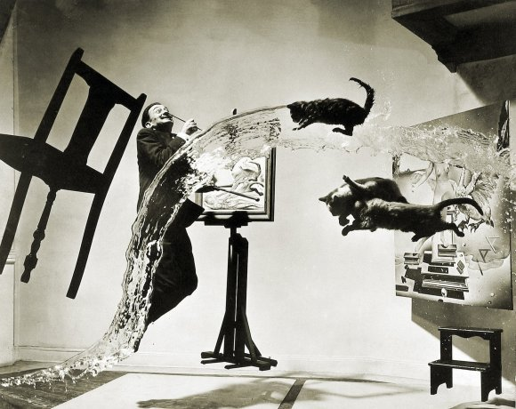 The Paranoiac-critical method by Dali