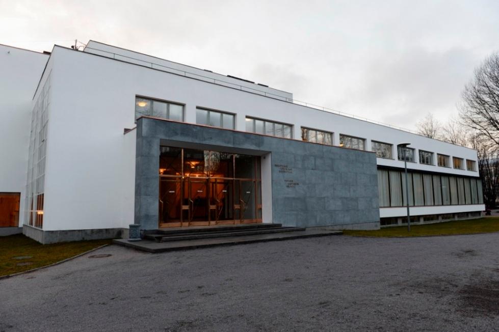 Vyborg Library by Alvar Aalto. Vyborg, Russia, 1927-35