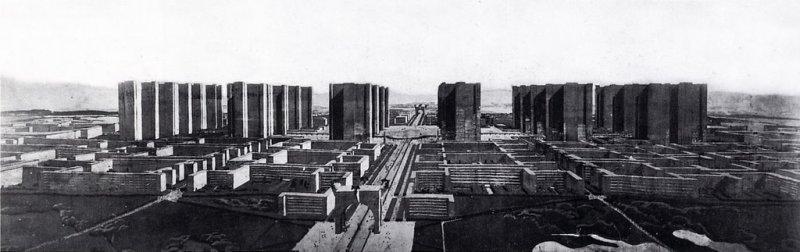 Le Corbusier's Plan Voisin