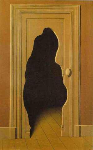 Rene Magritte's La Rèponse Imprèvue (The Unexpected Answer), 1933