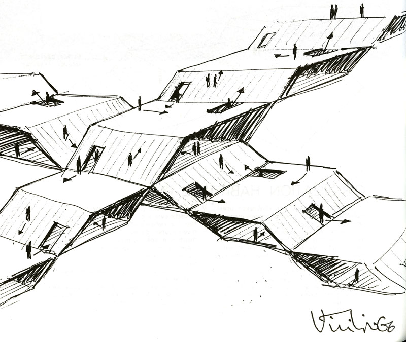 Claude Parent & Paul Virilio - Function of the Oblique 11
