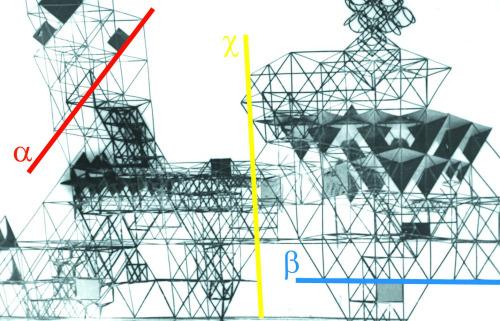 Eckhard Schulze-Fielitz | raumstadt (Spatial Urbanism) Urbanismo Espacial | 1959-1962