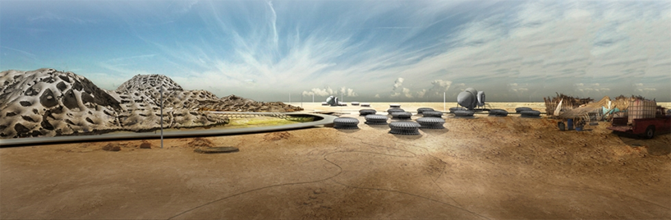 Energy Accreted Ecologies - Bedouin power house