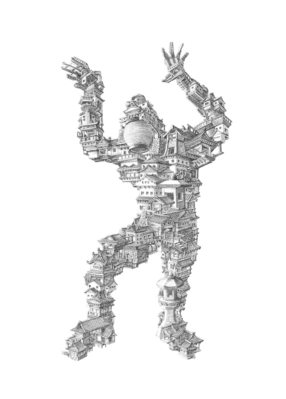 Guardian Miniature by Sean Edward