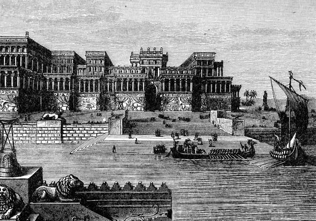 Asshur-Izir-Pal Palace, Assyria