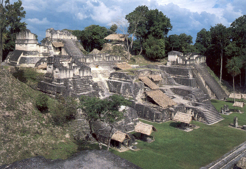 North Acropolis of Tikal