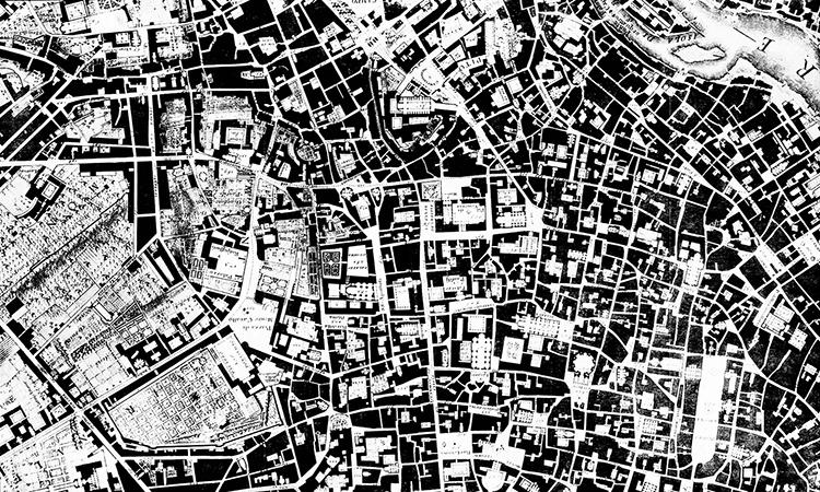 Rome   Nolli Plan