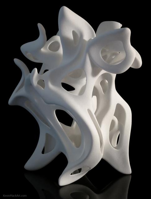 'Digital Sculptures' by Kevin Mack